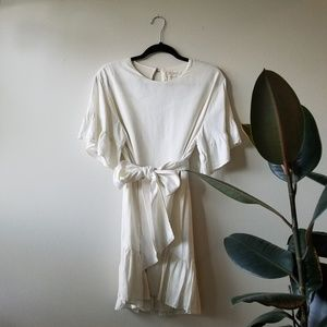 Urban Outfitters Suddenly Spring Linen Dress S